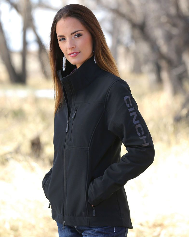 a8c3031a7d7 Cinch Women s Black Concealed Carry Bonded Jacket in 2019