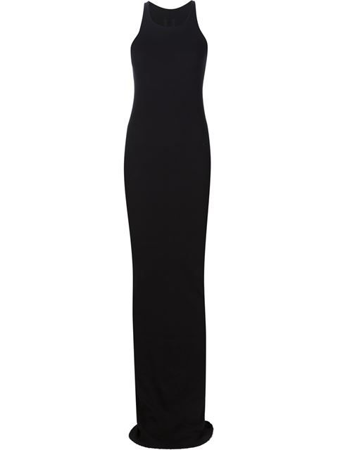 1b306b8c34e7 RICK OWENS DRKSHDW Rib Tank Long Dress. #rickowensdrkshdw #cloth #dress