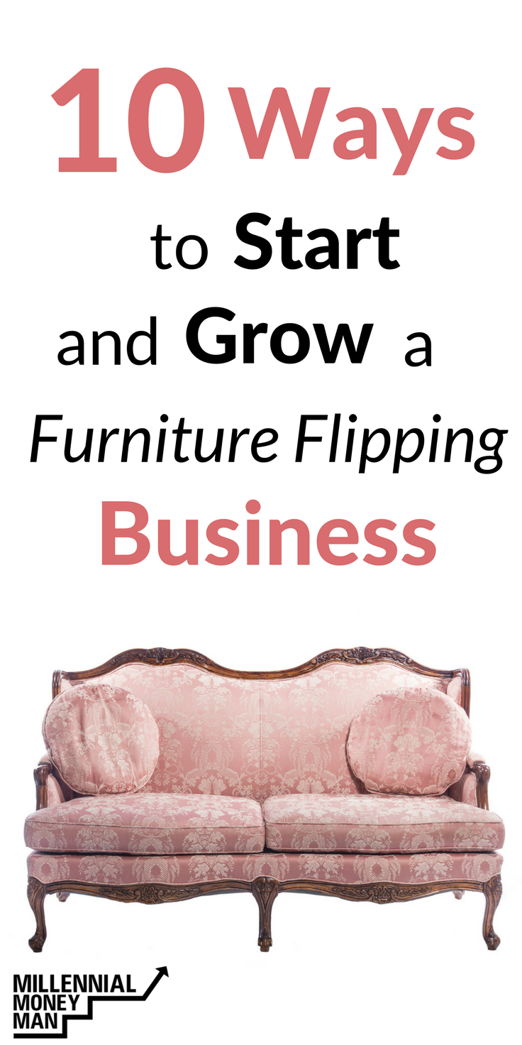 How To Make a Full-Time Income Flipping Furniture From Home | Hustle ...