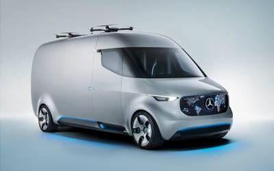 Mersu myllää pakettiauton perusteellisesti: automatisoitu tavaratila, paketit perille lennokeilla... - T&T