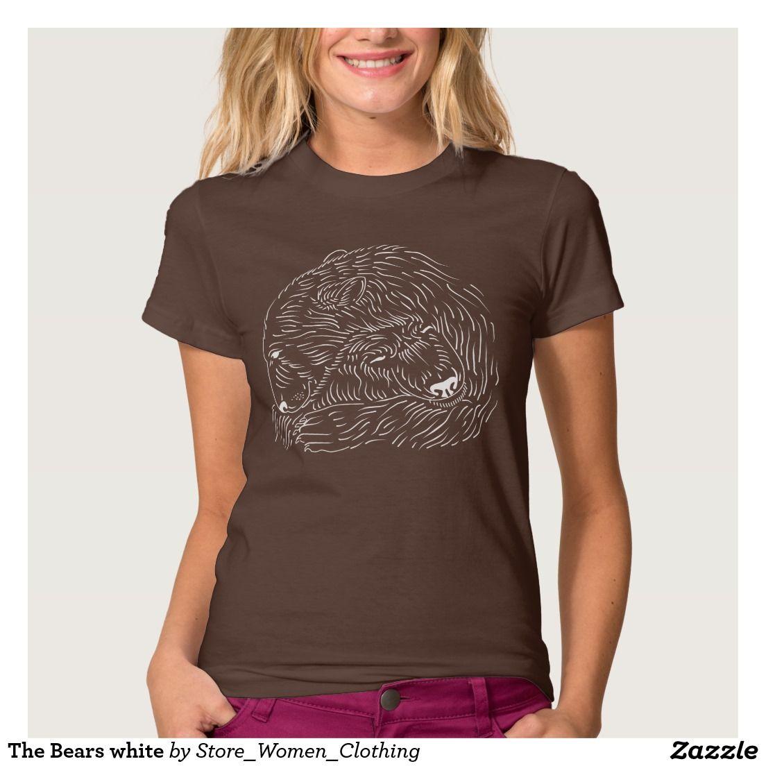 The Bears white T-Shirt The #Bears #white #T-Shirt #girl #girly #woman #women…