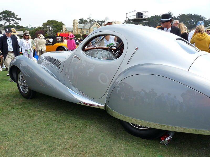 1938 Talbot-Lago T150C SS Figoni et Falaschi Coupe