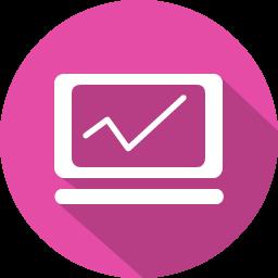 System Analytics Icon Icon Analytics Flat Icon