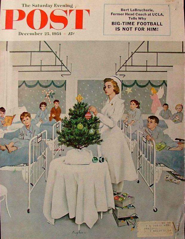 Sapin de Noël 1954-12-25LG Children's Ward at Christmas - George Hughes