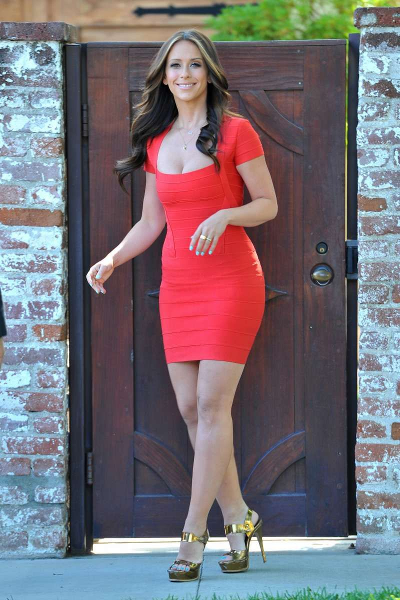 Pin by mark sature on Jennifer Love Hewitt | Jennifer love hewitt, Red  bandage dress, Jennifer love