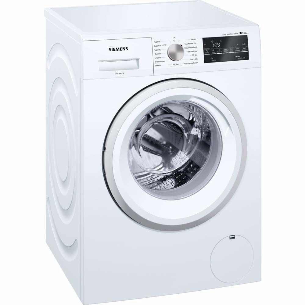 Siemens Wasmachine Wm14t463nl Wasmachines Kast Ontwerpen En Donkere Was