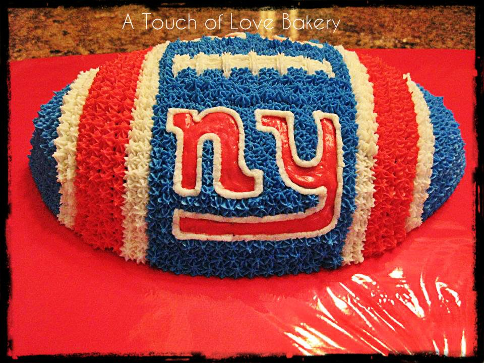 NY Giants #atouchoflovebakery