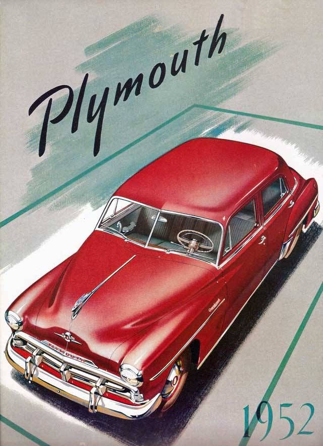 1952 plymouth | Classic Marques - Plymouth | Pinterest | Plymouth