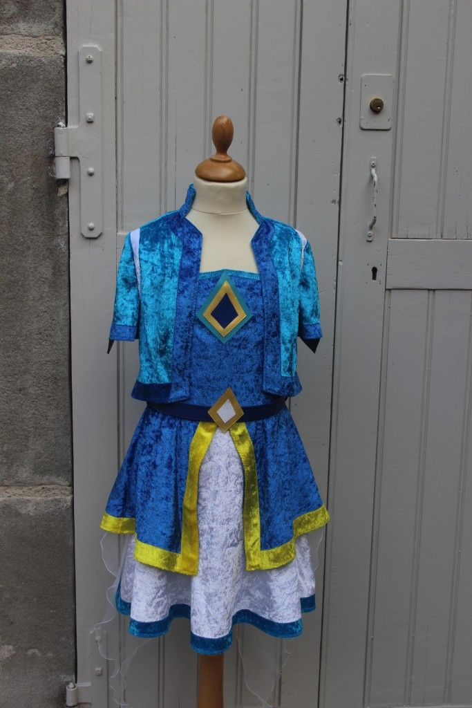 La princesse talia du dessin anim lolirock costume - Dessin costume ...