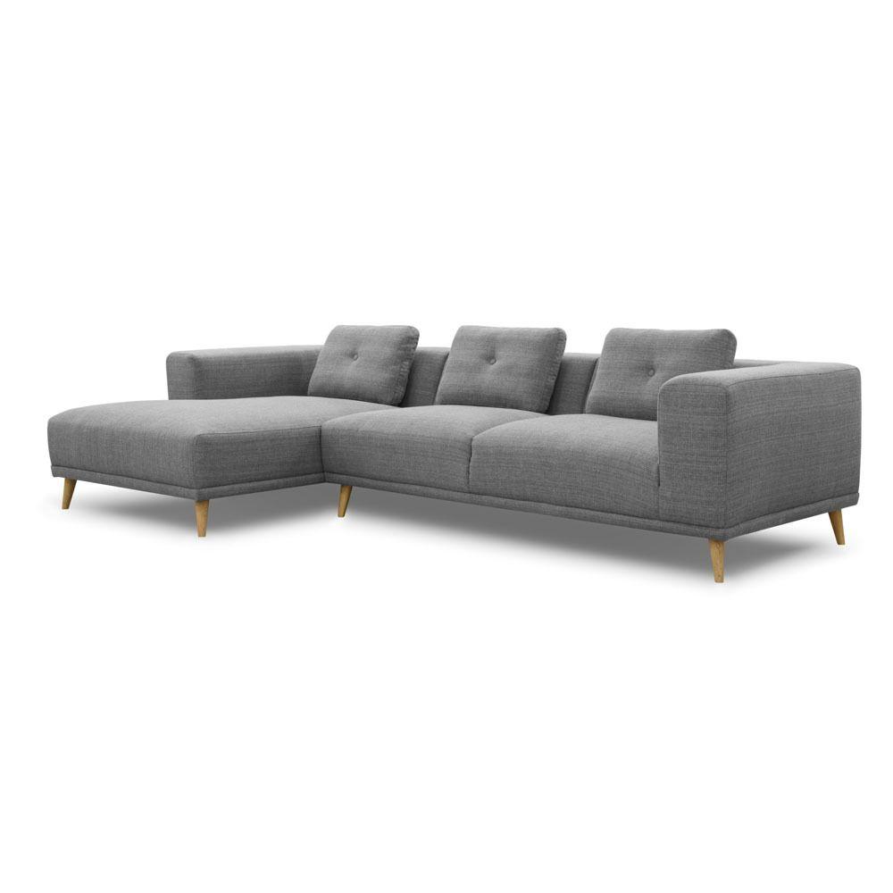Coburn 3 Seat Sofa With Chaise Dare Gallery Sofa