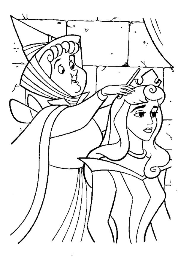 Sleeping Beauty Coloring Pages Picture Aurora | printable coloring ...