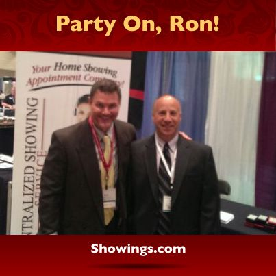 "The fun never stops in sunny Florida! Ron's hanging with Mitch Ribak from Tropical Realty at booth 511 at the ""Rock your World"" Expo. Turn up the volume and party on, Ron!"