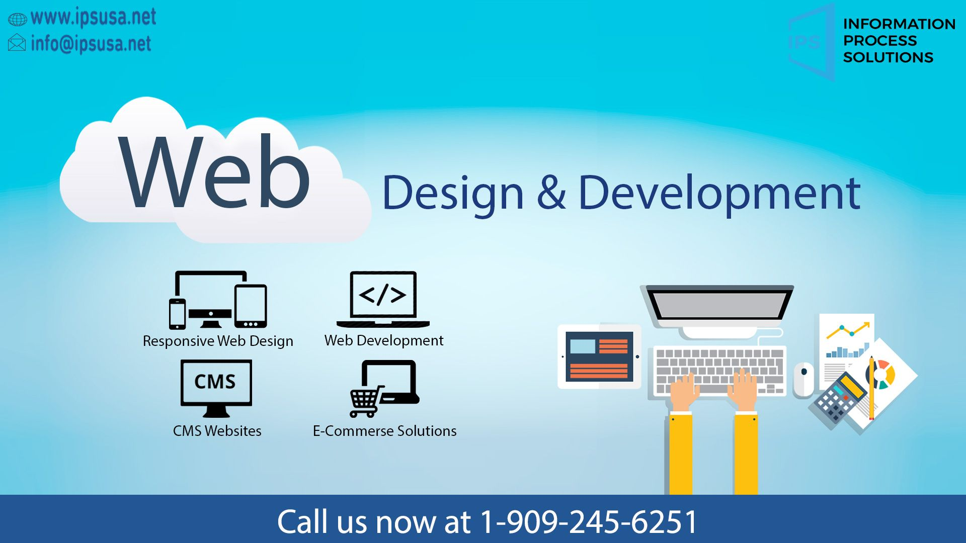 The Four Aspects Of Web Design And Development Ips Usa Has The Right Team To Take Your Business Web Development Agency Web Development Web Development Design