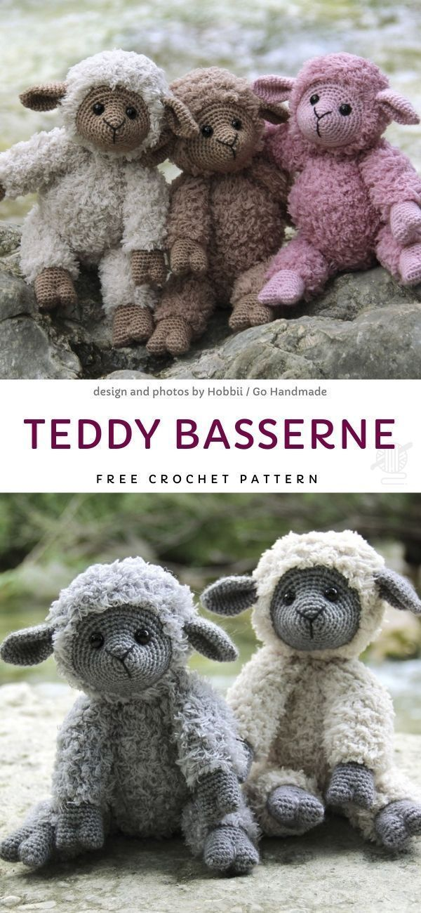 Teddy Basserne Free Crochet Pattern – – #basserne #craftstodowhenbored #croche …