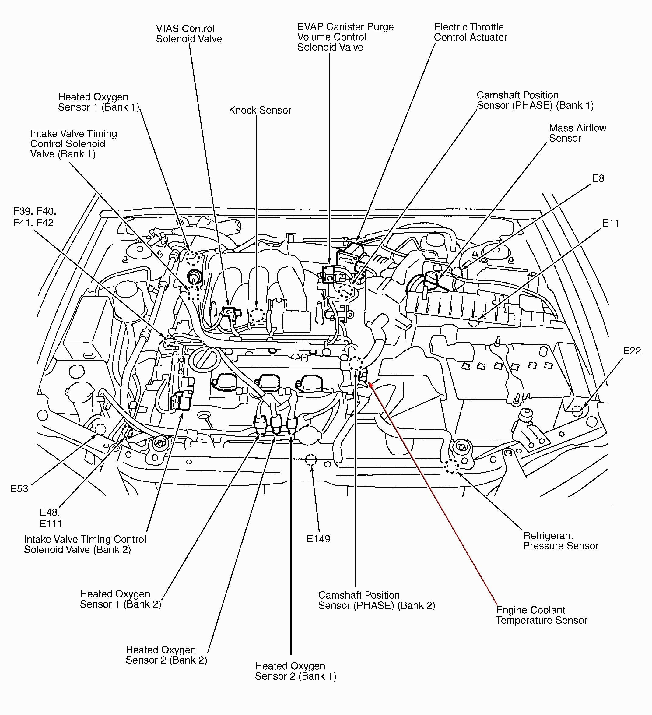Wiring Diagram For Car Engine Diagram Diagramtemplate Diagramsample Nissan Pathfinder Nissan Xterra Nissan Maxima