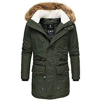Warm Mantel Winter Jacke Lang Marikoo Herren Parka EW2H9DI