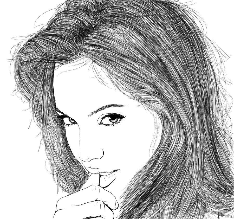 Line Art Drawings Tumblr Coloring Sheets Line Art Art Fashion