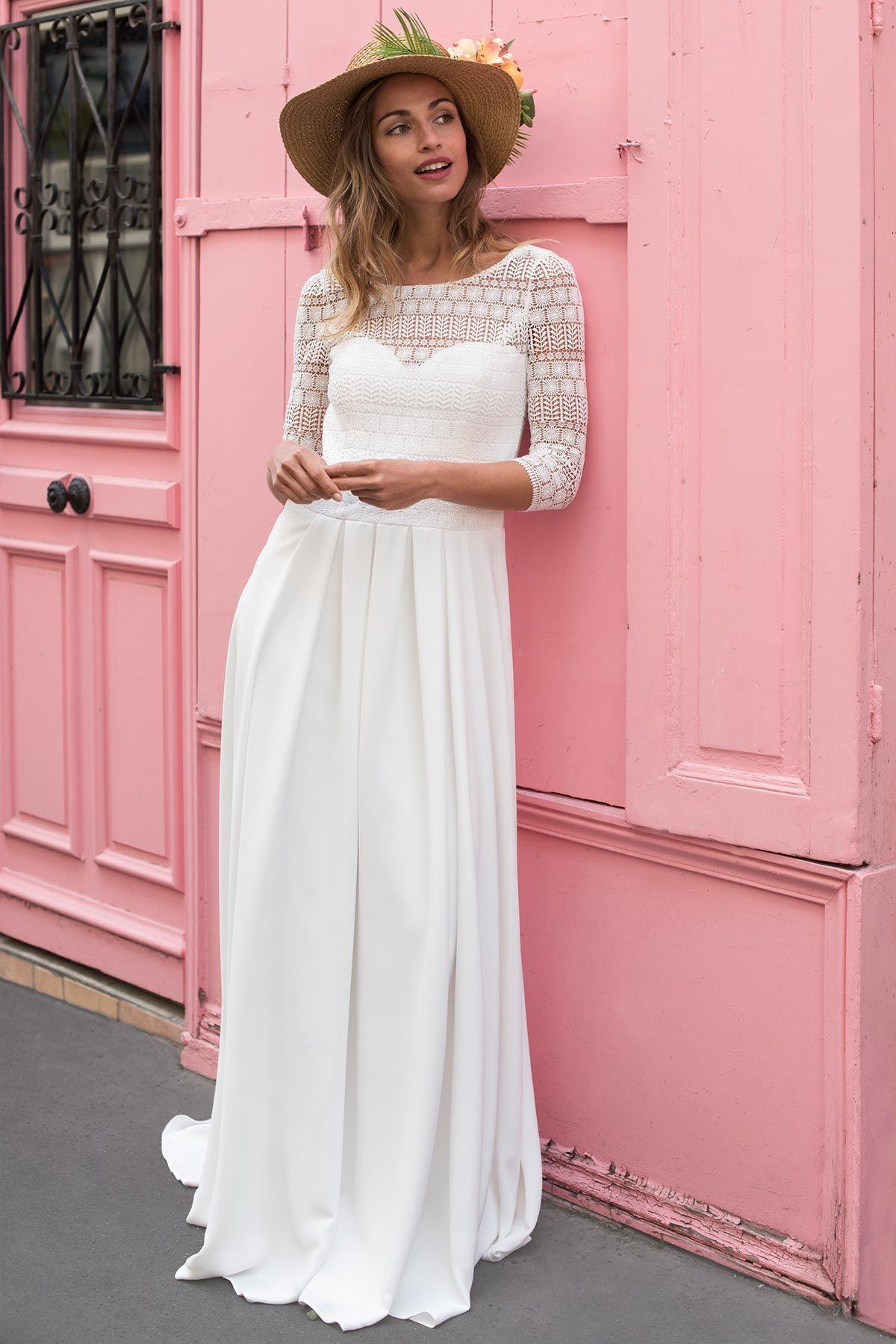 Créatrice – Robes de mariées – Paris | Hochzeits-Kleid | Pinterest