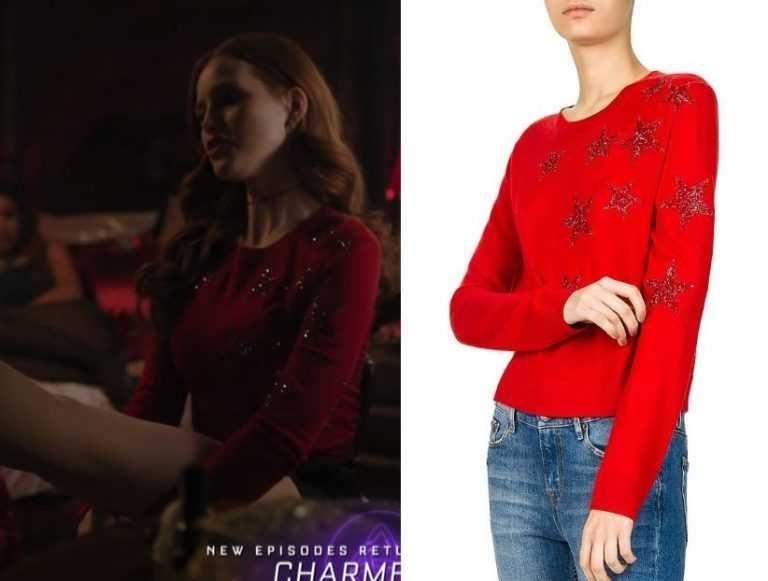 Riverdale Season 3 Episode 18 Cheryl S Star Embellished Sweater