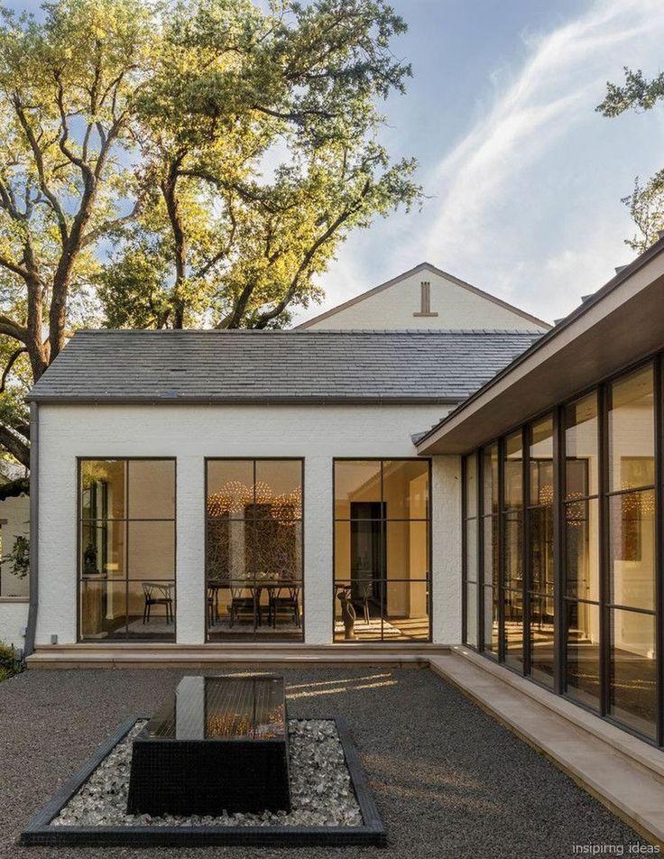 simple modern farmhouse exterior design ideas also home exteriors rh pinterest