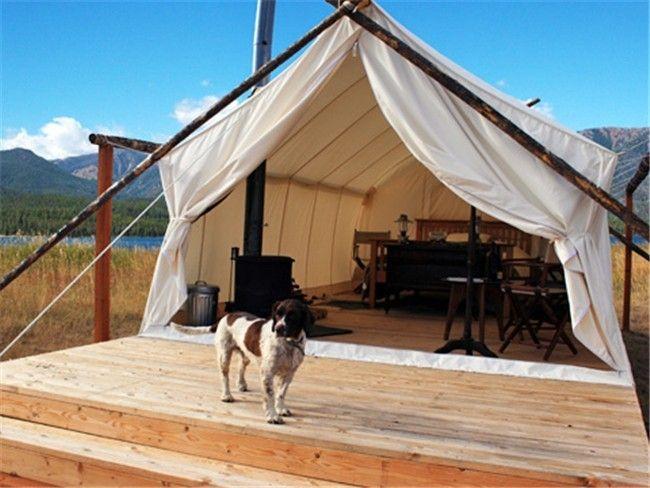 Luxury Tent by Yellowstone | Yellowstone camping ...