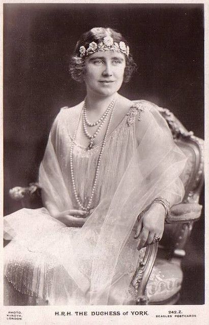 Herzogin Elizabeth von York, later Queen of Britain