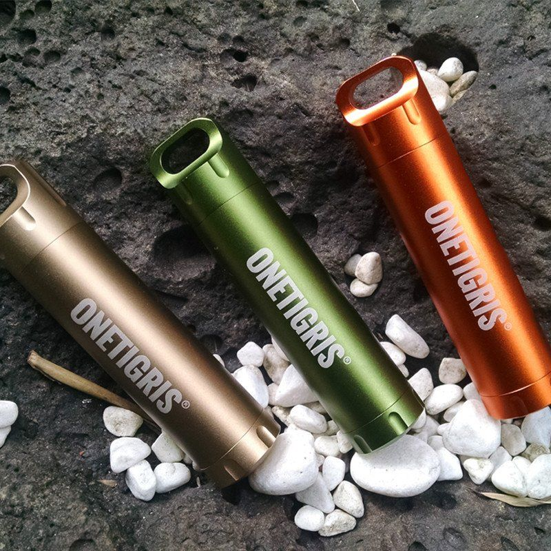 EDC Waterproof Bottle Holder Case Container Capsule Seal Survival Emergency Tool