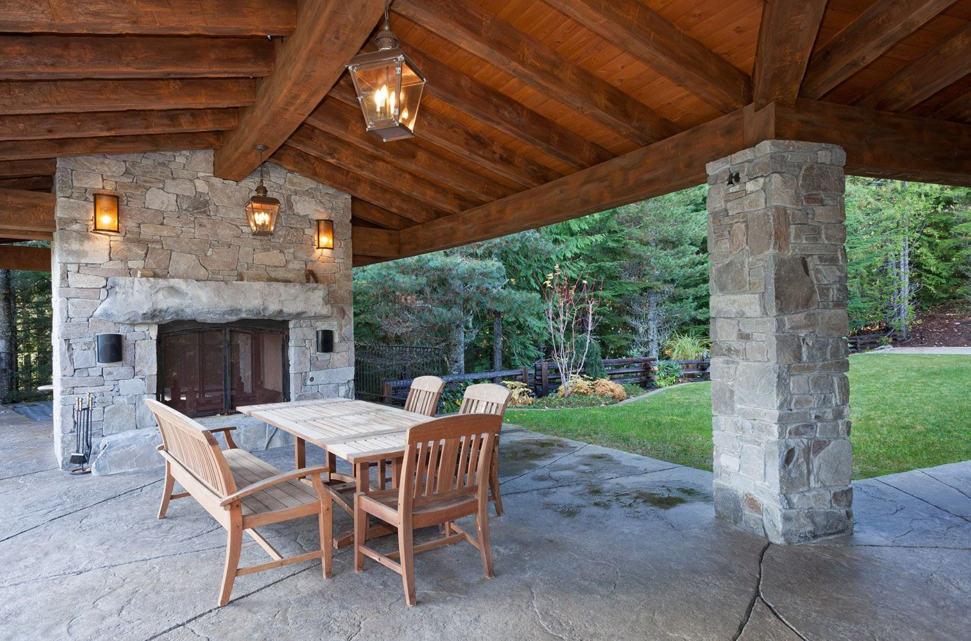 Outside fireplace outside fireplace pinterest whistler real