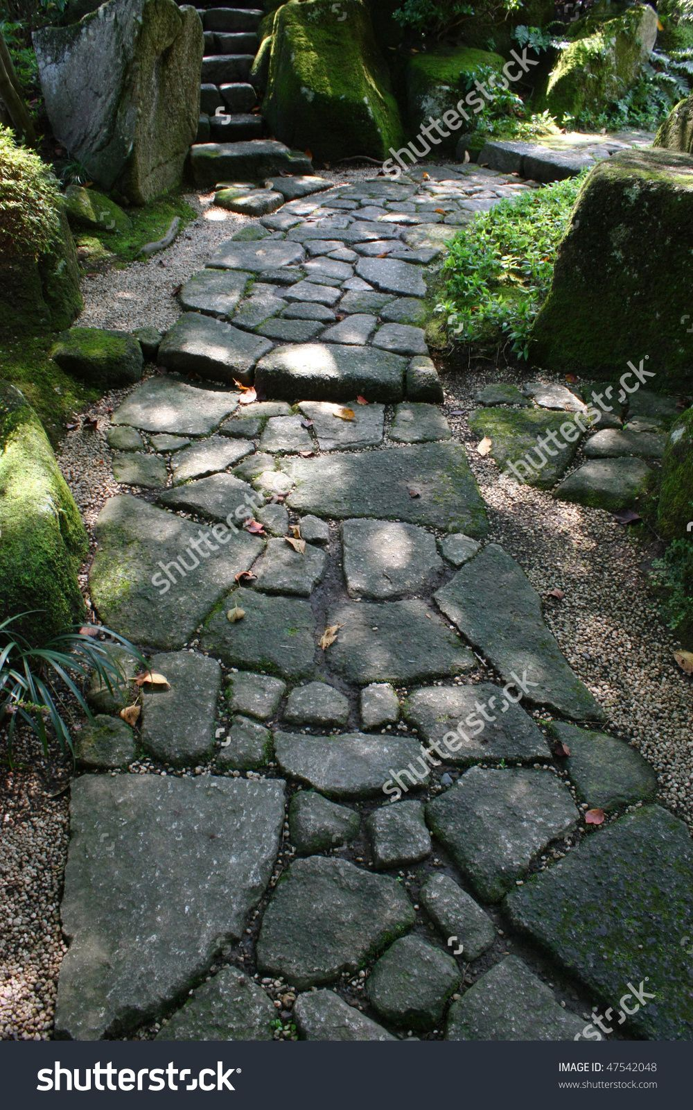 Charming Http://image.shutterstock.com/z/stock Photo Stone Path In Japanese Garden 47542048  | Garden Paths | Pinterest | Paths, Stone Steps And Garden Paths