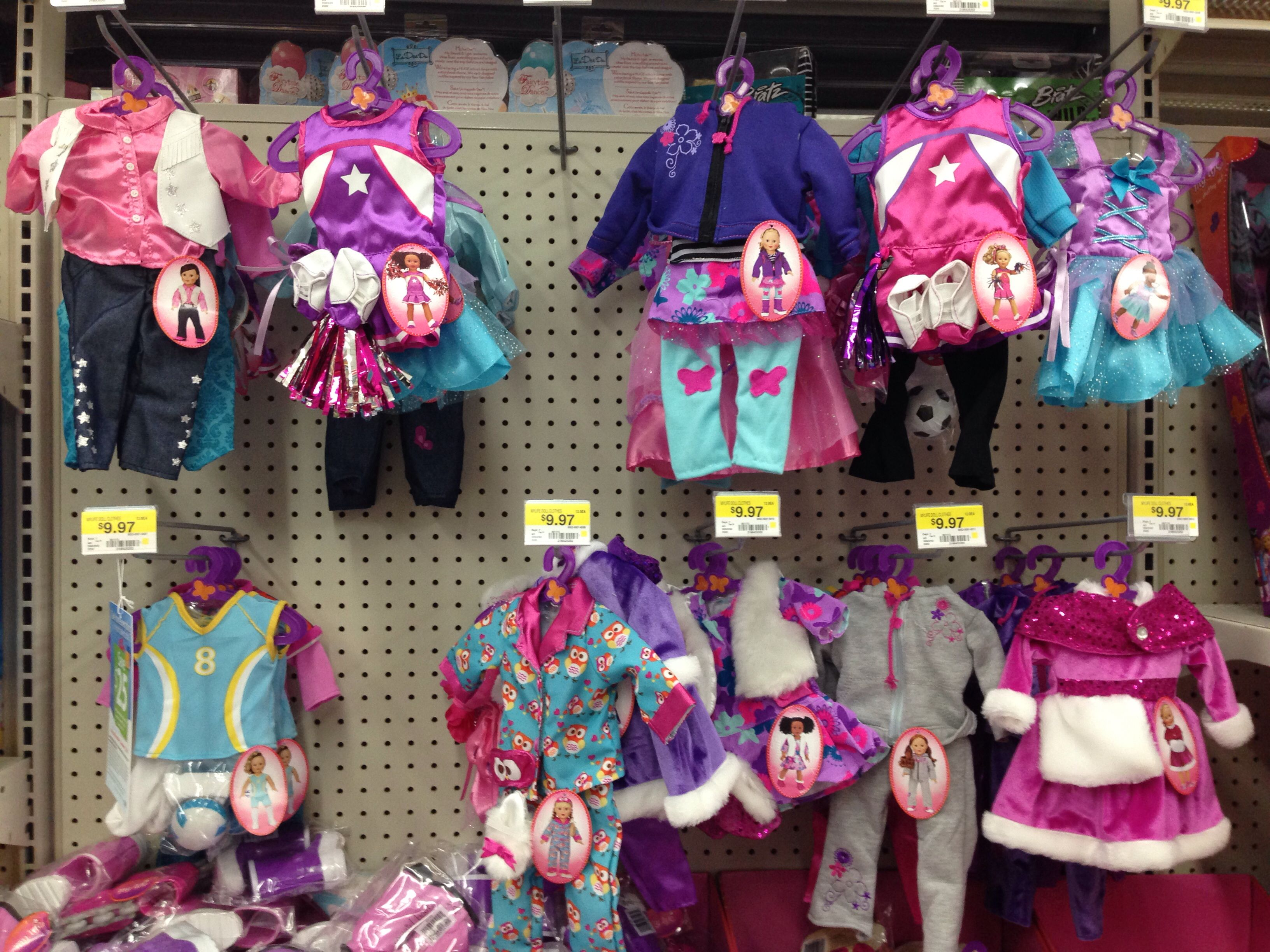 My Life Doll Clothes And Accessories At Walmart My Life Doll