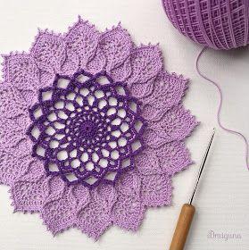 Arcanoweave Part 2 Free Crochet Doily Patterns Crochet