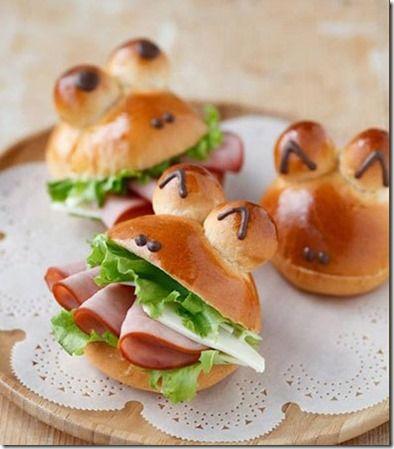 Sandwich Grenouille Food For Kids Or Not Pinterest Sandwiches Recette Feta Et