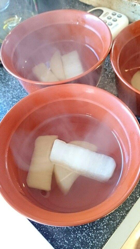 大根の貝柱スープ