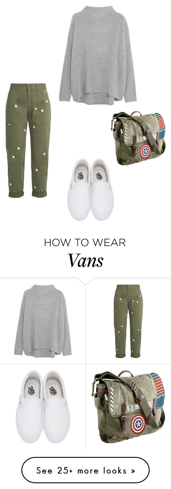 """Sans titre #128"" by cflowerb on Polyvore featuring Vans, STELLA McCARTNEY, Vince and Marvel"