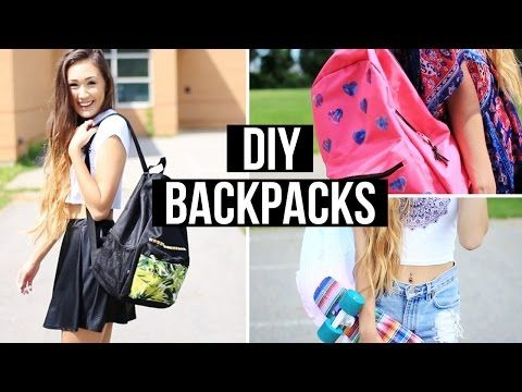 DIY Backpacks For Back To School 2014  ff28da6dfc92a