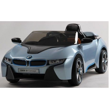 Coche Electrico 12v Bmw I8 Azul Mando Rc Bmw I8 Coche