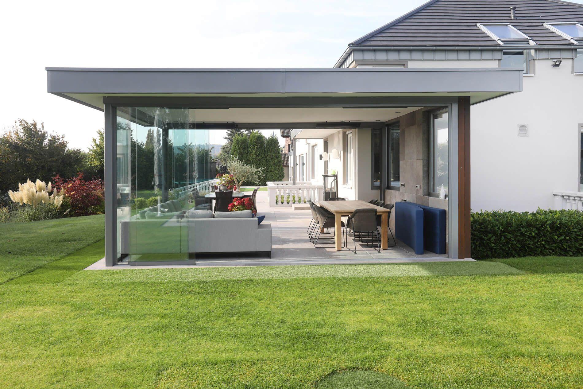 Beispielbilder Von Sunflex Schiebeelemente Fur Terrasse Balkon