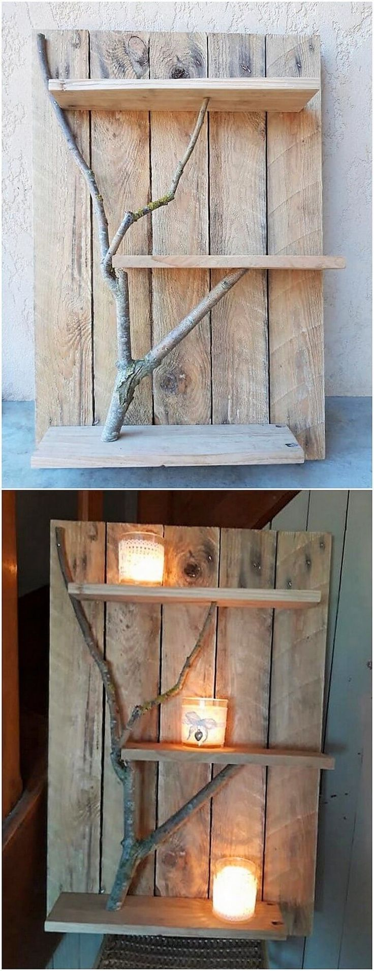 Less Expensive Wood Shipping Pallet DIY Projects