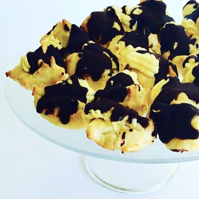 Cream Puffs by CUPCAKES AND CONFETTI @ CupcakesandConfetti.com