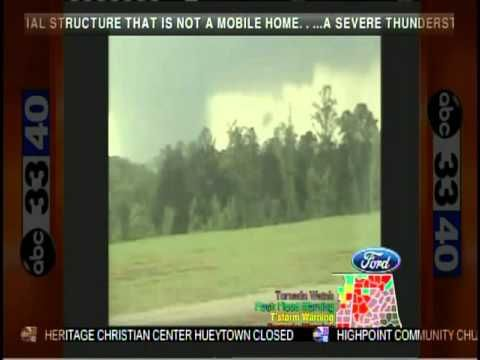 ABC 33/40 Coverage of the April 27, 2011 Outbreak (4:45 to 5:00 pm)