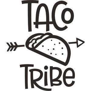 Download Silhouette Design Store: taco tribe | Sophie Gallo Design ...