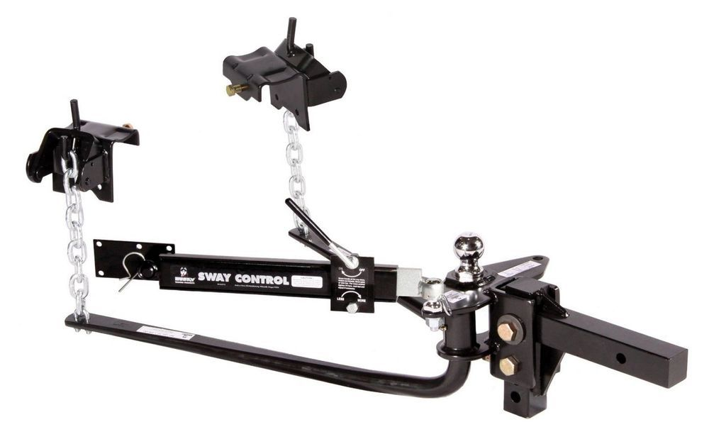 Details about Husky Round Bar Weight Distribution Hitch Sway