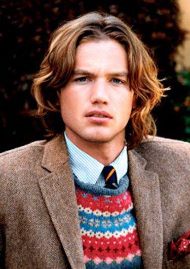 Tweed + Fair Isle, rep tie, pinstripe oxford