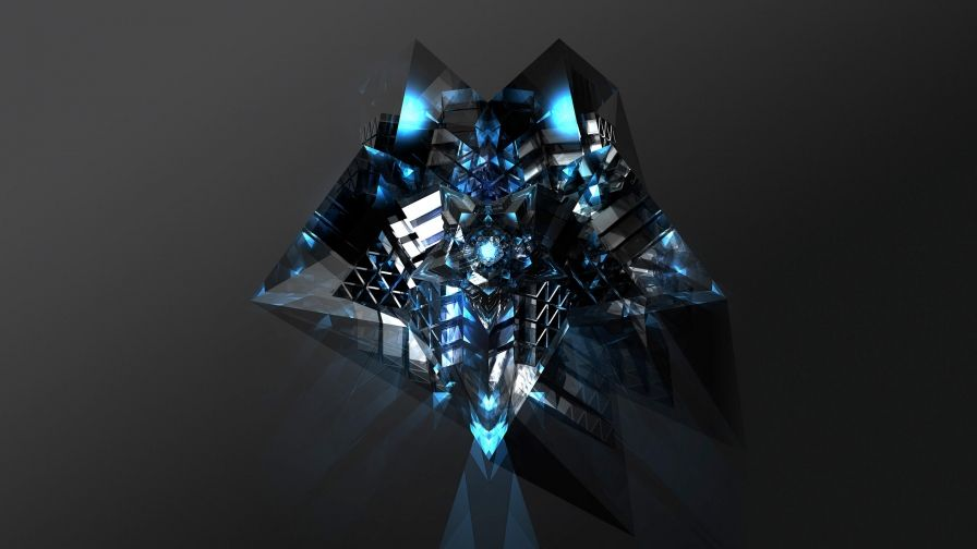 Facets Abstract Design QHD 2560x1440 Wallpaper 128