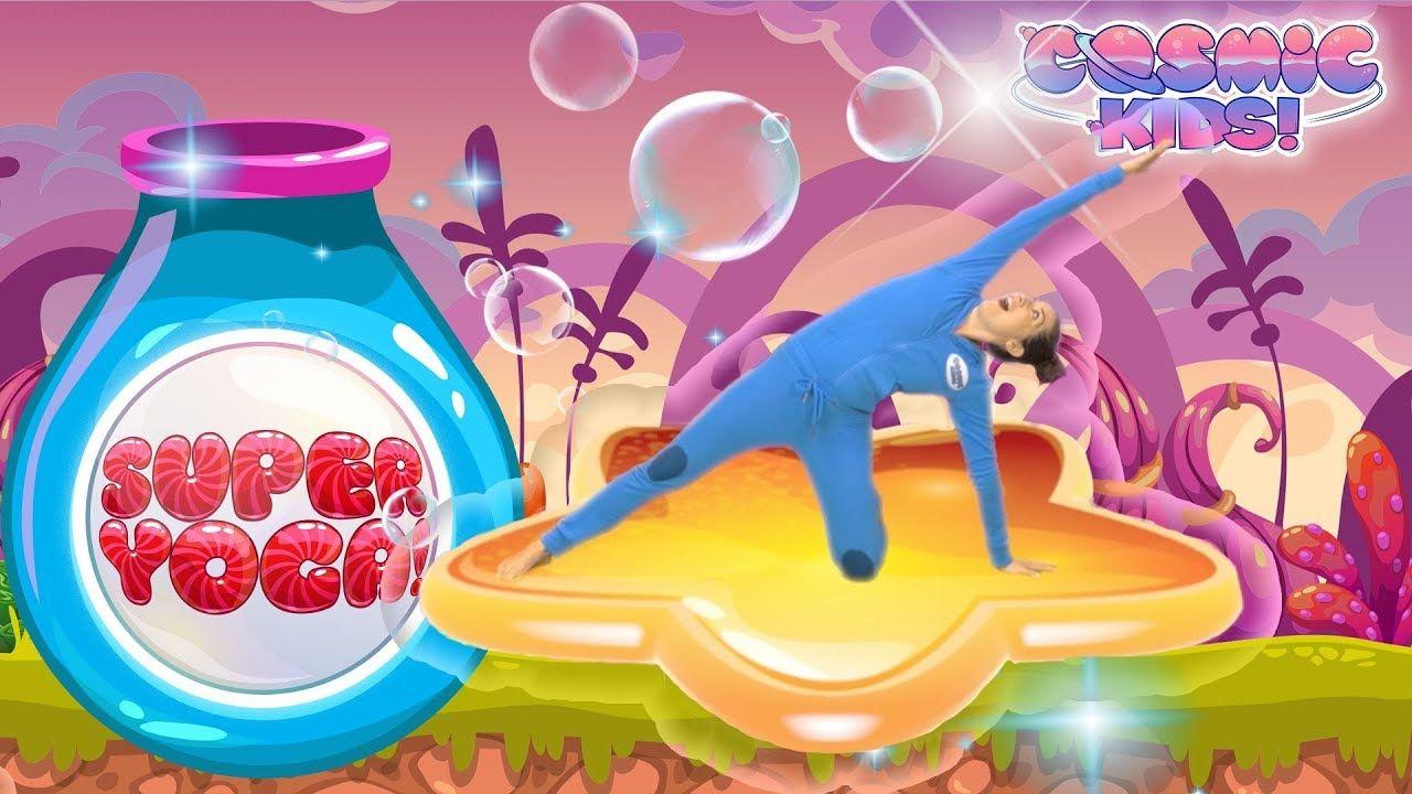 Cosmic Kids Yoga Super Yoga Cosmic Jungle Fun Workout For Kids Yoga For Kids Fun Workouts Kids Yoga Poses