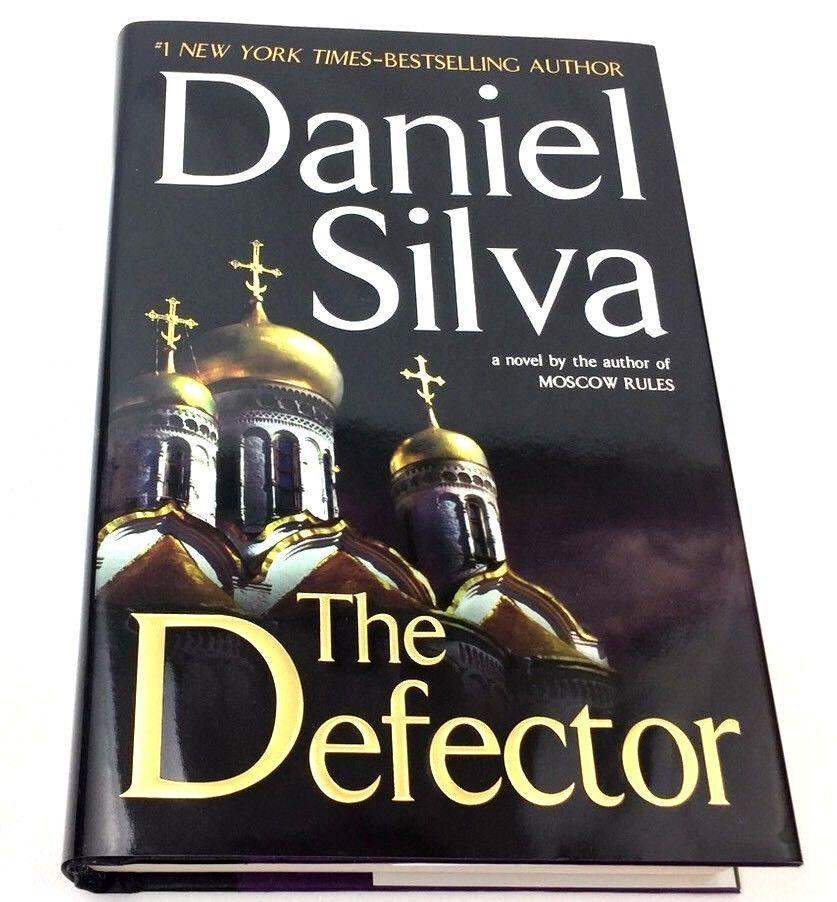 Defector Silva Daniel Gabriel Allon Series 2009 First Ed