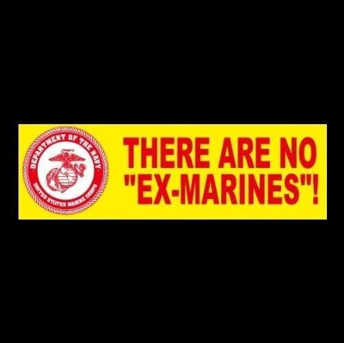 Corps veteran bumper sticker decal usmc military