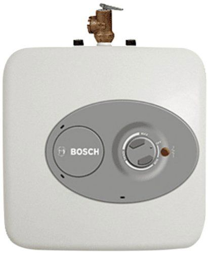 Bosch Es8 Point Of Use Electric Mini Tank Water Heater 7 0 Gallon With Images Electric Water Heater Tankless Water Heater Water Heater