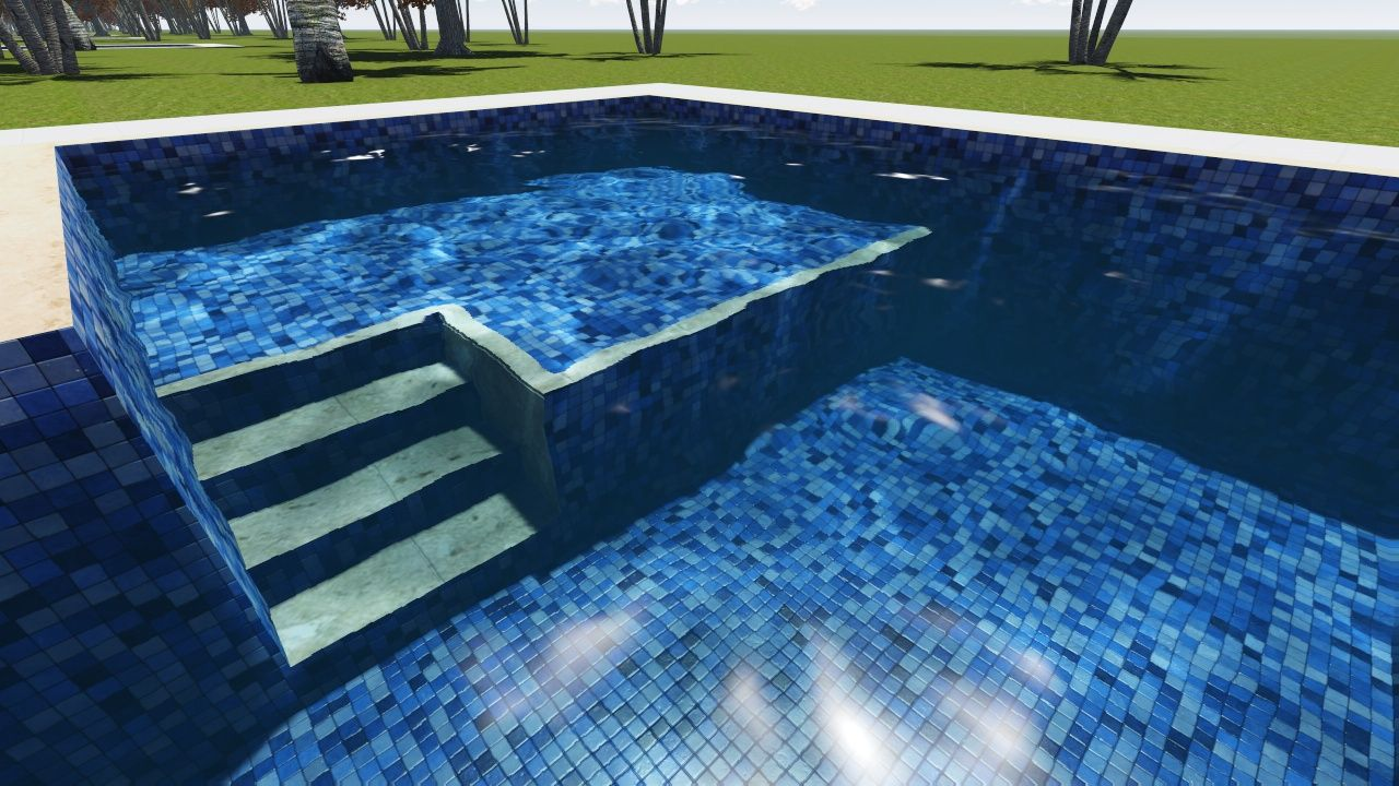 Piscina De Alvenaria Bh Piscinas Concreto Azulejo