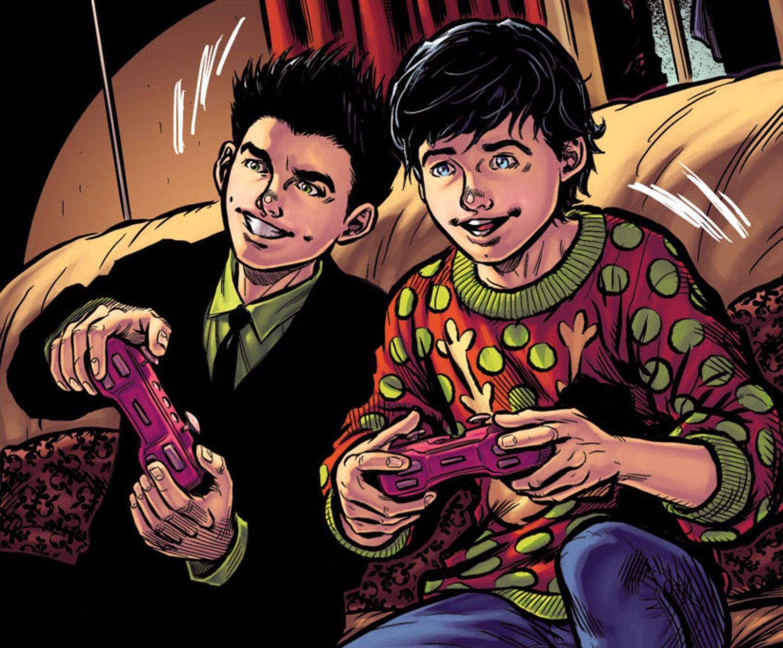 Aww Damian and Jon